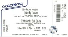 Drive By Truckers [13 May 2014] London Sheperd's Bush Empire