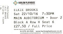 Stub - Elkie Brooks - 22 Oct 2016