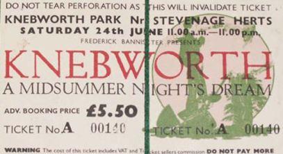 Genesis [24 June 1978] Knebworth