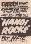 Stub - Hanoi Rocks [27 Jun 1984] Nottingham Zhivago's