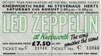 Stub - Led Zepplin [11 Aug 1979] Knebworth