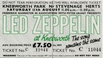 Led Zepplin [11 Aug 1979] Knebworth