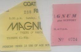 Stub - Magnum [16 Mar 1980] Redcar Coatam Bowl