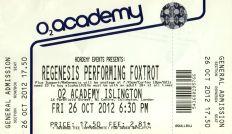ReGenesis [26 Oct 2012] London O2 Academy Islington