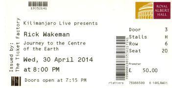 Rick Wakeman [30 Apr 2014] Royal Albert Hall