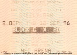 Steely Dan [25 May 1996] Birmingham NEC