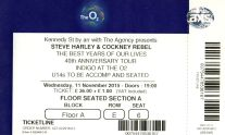 Steve Harley & Cockney Rebel [11 Nov 2015] London O2 Indigo