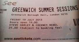 Steve Harley & Cockney Rebel [13 July 2013] London