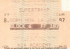 Supertramp [16 Jun 1997] Birmingham NIA