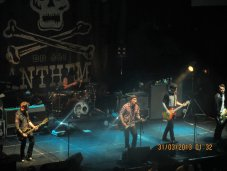 Gaslight Anthem - Troxy theatre London (30 Mar 2013)