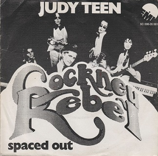"Cockney Rebel - Judy Teen 7"" single cover"