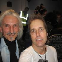 Chuck Prophet and Me (Selfie by Chuck)