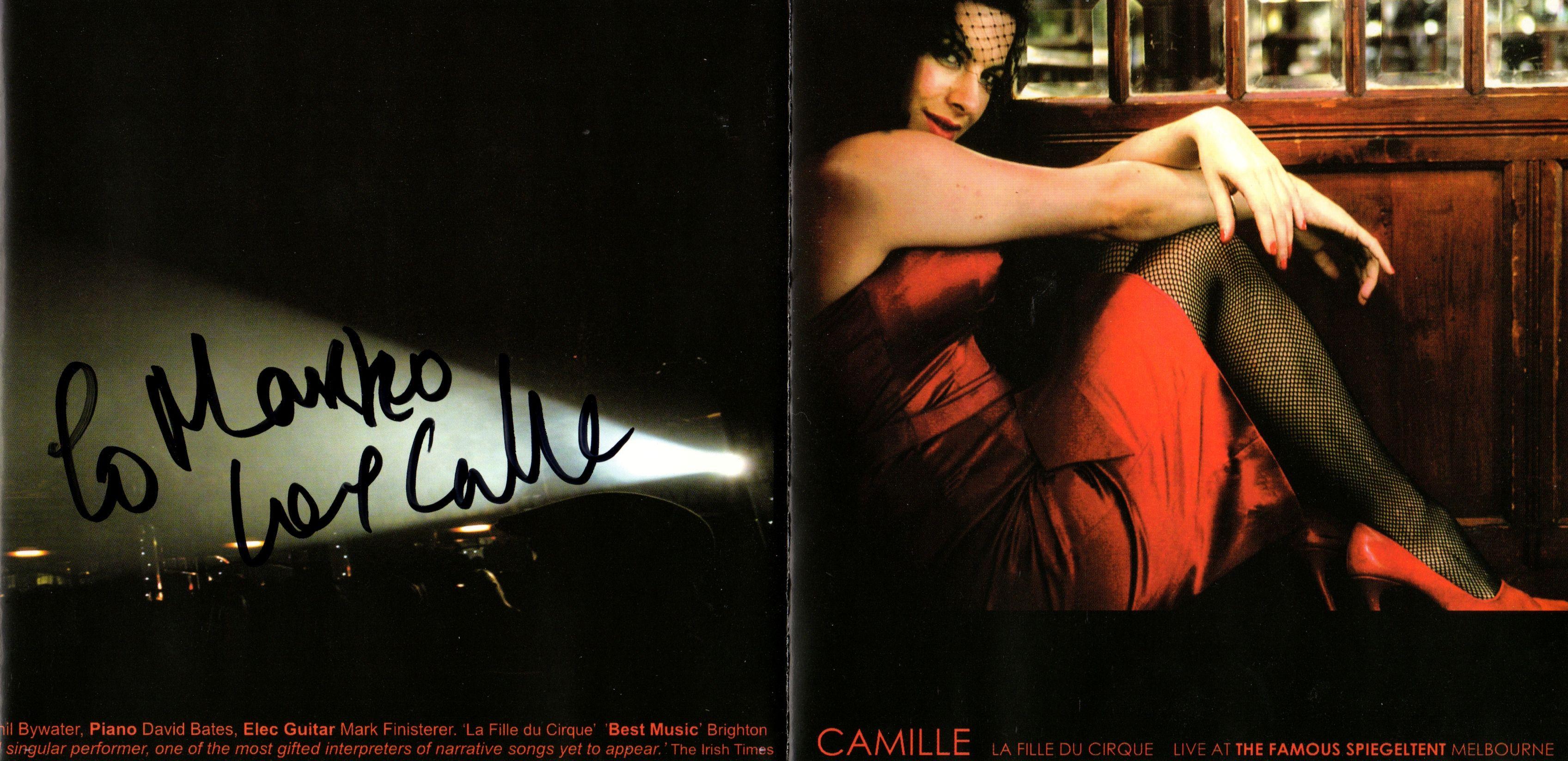 (Signed) Camille O'Sullivan - La Fille Du Cirque [20 May 2006 Brighton]