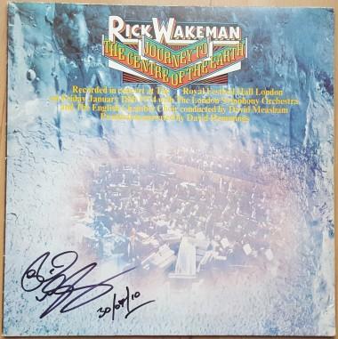 Rick Wakeman LP Autographed