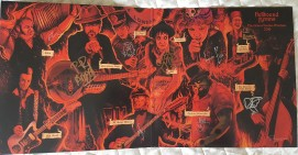 Hellbound Hymns LP - signed by band 2016