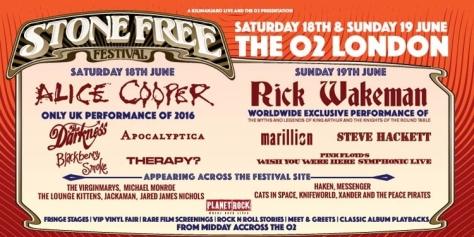 Stone Free Festival 2016