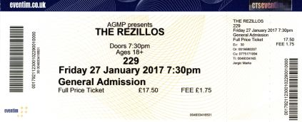 The Rezillos, Spizzenergi, The Tuts