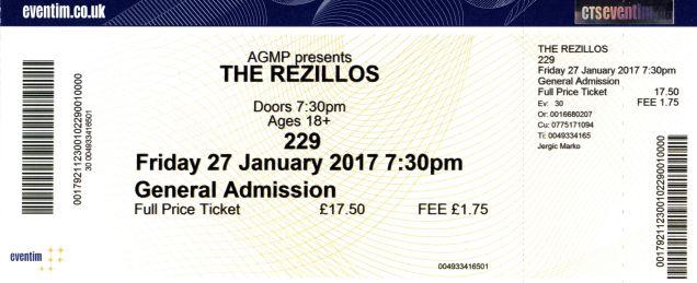 The Rezillos, Spizzenergi, The Tuts