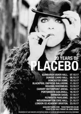 Placebo - 20 years World tour UK leg 2