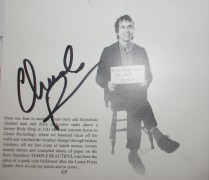 Chuck Prophet - Temple Beautiful - signed [17 Nov 17]