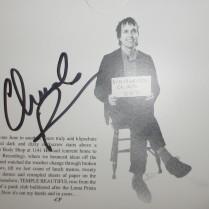 Chuck Prophet - Temple Beautiful - signed [17 Nov 17]