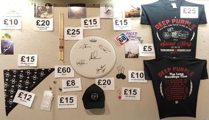 Deep Purple merch