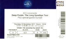 Deep Purple - [23 Nov 2017] London O2