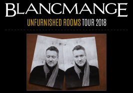 Blancmange - Unfurnished Rooms Tour 2018
