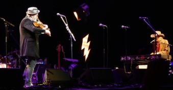 Mike Scott and Steve Wickham - The Waterboys - London Palladium 27 April 2018