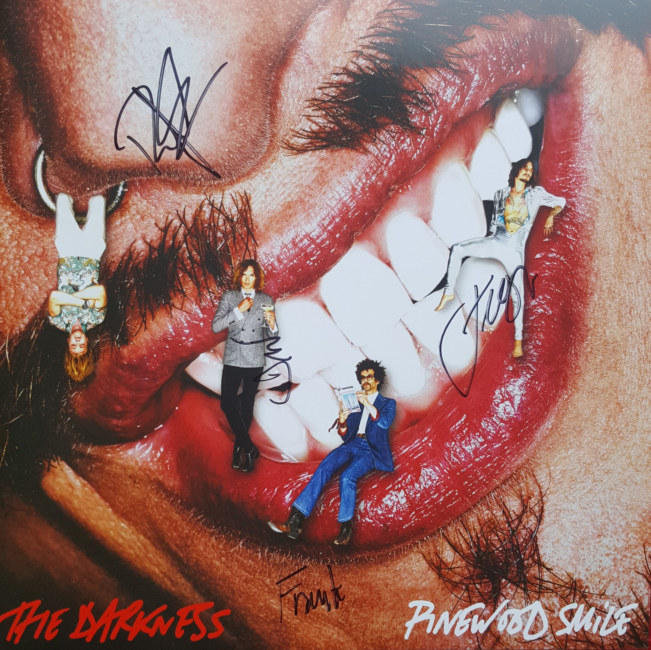 The Darkness - Pinewood Smile LP [signed 2017]