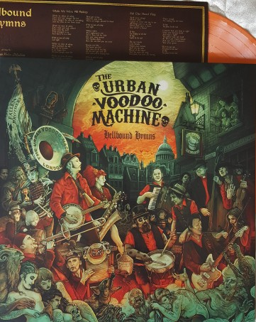 Urban Voodoo Machine Hellbound Hymns 2016