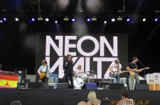 Neon Waltz live [7 July 2018] Greenwich