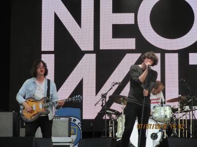 Neon Waltz live [7 July 2018] Greenwich
