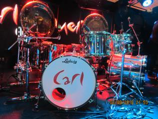 Carl Palmer drum kit