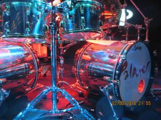 Carl Palmer drum kit