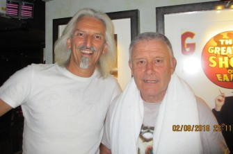 Moi and Carl Palmer
