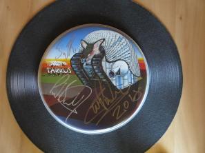 Tarkus - signed drum skin!