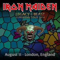 Iron Maiden - Legacy of Beast 11 Aug 2018