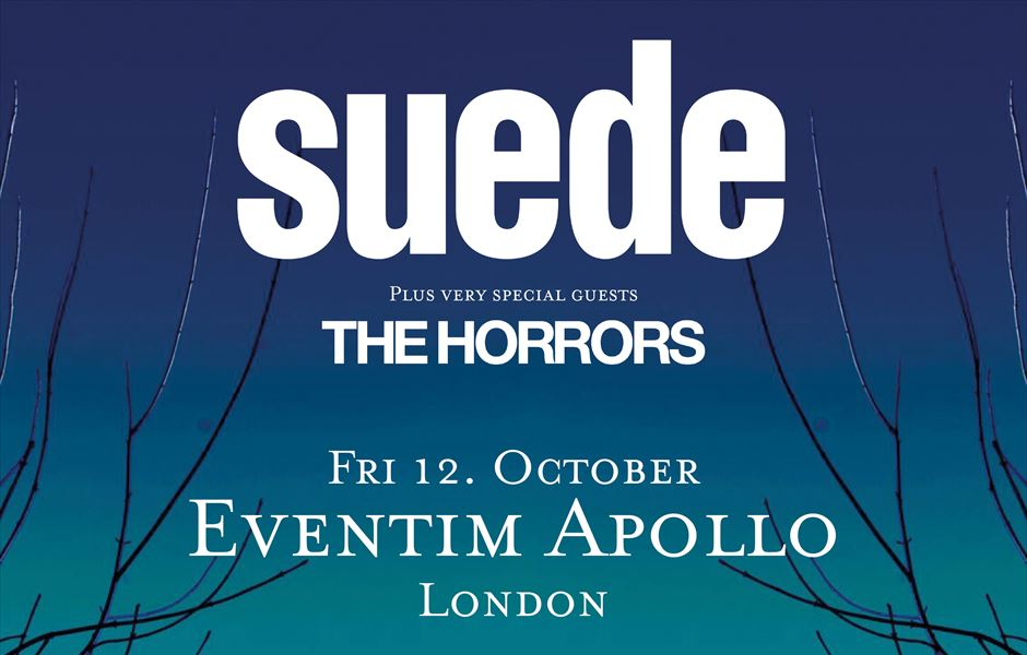 Suede 2018 tour [12 Oct 2018] Hammersmith Apollo London