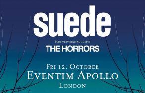 Suede 2018 tour [12 Oct 2018] Hammersmith Apollo London
