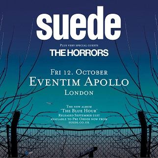 Suede - Hammersmith 18 Oct 2018
