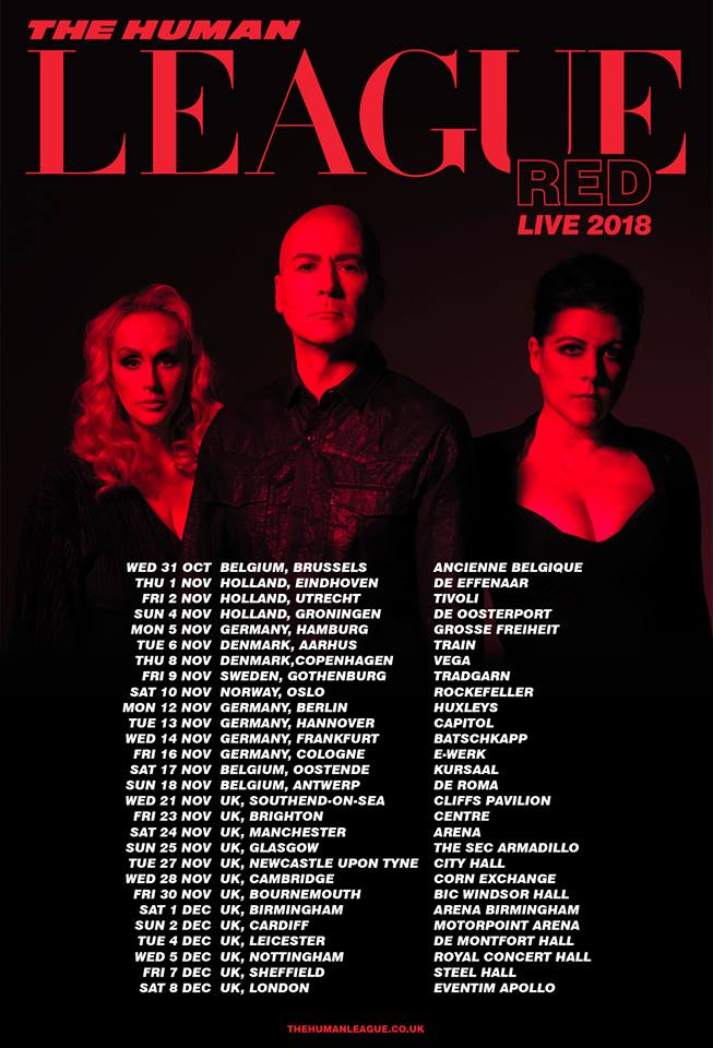 The Human League Red Tour 2018 [21 Nov 2018]2