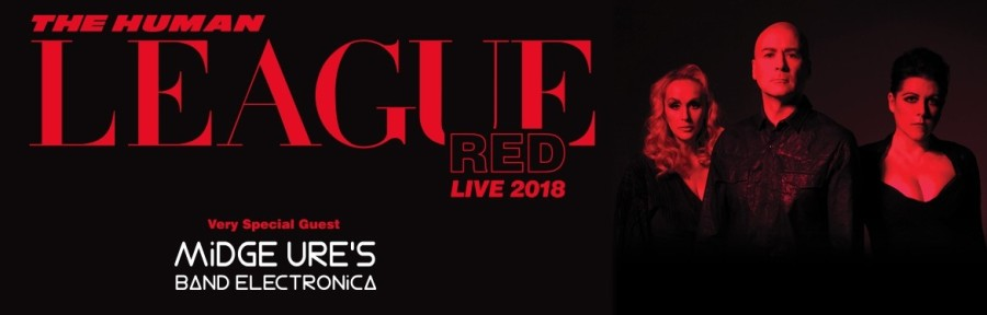 The Human League – Red Tour 2018 Southend Cliffs Pavilion [21 /11/2018]