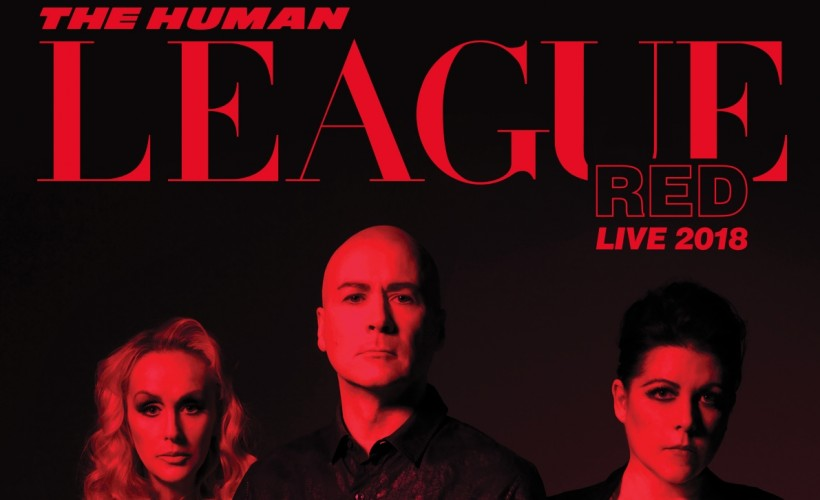 The Human League Red Tour 2018 banner2