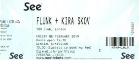 Flunk - [8 Feb 2019], 100 Club