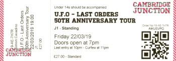 UFO - [22 Mar 2019] Cambridge Junction