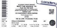 Mott the Hoople [26 Apr 2019] Shepherds Bush Empire